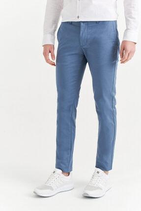 Avva Erkek Açık Mavi Yandan Cepli Basic Slim Fit Pantolon A01y3042 1