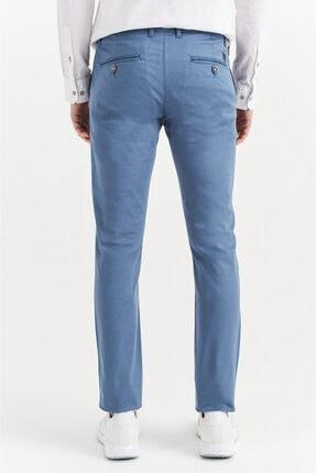 Avva Erkek Açık Mavi Yandan Cepli Basic Slim Fit Pantolon A01y3042 2