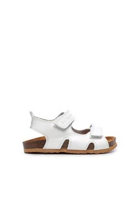 Kemal Tanca Unisex Çocuk Beyaz Derı Sandalet 719 300 Cck 22-30 Y19 0