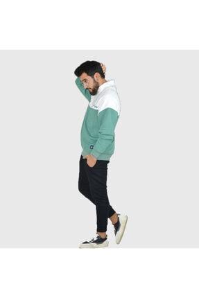 Trendbir Yeşil Sweatshirt Erkek Trend Giyim 1