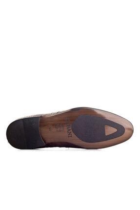 Cabani Örgülü Derili Neolit Enjeksiyon Tabanlı Loafer Erkek Ayakkabı Lacivert Deri 2