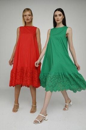 Cream Rouge 20-1272 Elbise Sıfır Kol Eteği Fistolu 0