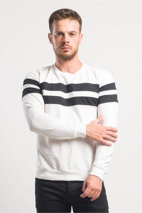 caddecity Göğüs Çift Bantlı Sweatshirt 1