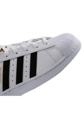 adidas Superstar Günlük Spor Ayakkabı Beyaz C77124 4