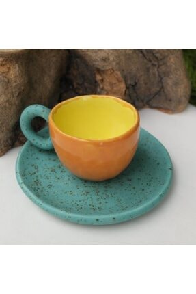Topraktan Sanata Seramik El Yapımı Kahve Fincanı 0