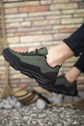 Riccon Haki Erkek Sneaker 00121310 1