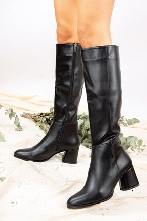 Fox Shoes Siyah Kadın Çizme J848300109 1