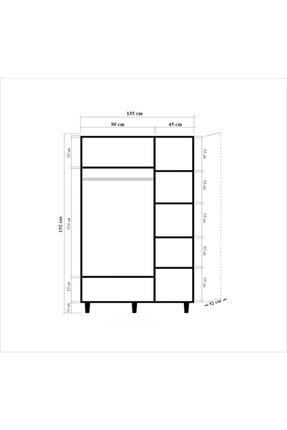 Vivense Mode Üç Kapılı Gardırop Uv0430201-220 4