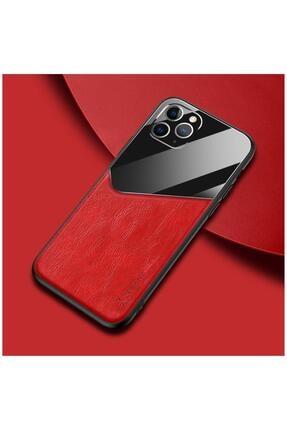 Dara Aksesuar Apple Iphone 11 Pro Max Kılıf Zebana New Fashion Deri Kılıf Kırmızı 0