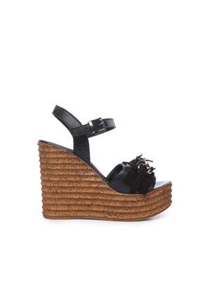 Kemal Tanca Kadın Derı Sandalet Sandalet 169 51454 Bn Sndlt 0