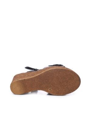 Kemal Tanca Kadın Derı Sandalet Sandalet 169 51454 Bn Sndlt 4