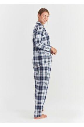 Suwen Adelina Maskulen Pijama Takımı 2