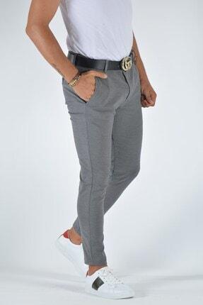 Terapi Men Erkek Slim Fit Keten Pantolon 20y-2200321 Gri 1