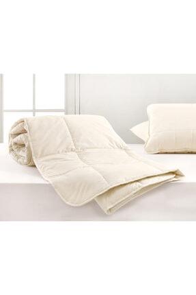 English Home Layna Yıkanabilir Yün Tek Kişilik Yorgan 155x215 Cm Beyaz 1