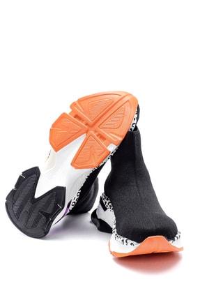 Derimod Kadın Kalın Renkli Tabanlı Çorap Bot 2