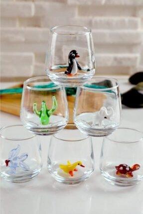mosaicturk Kahve Yanı Bardağı Karışık Hayvan Figürleri 1