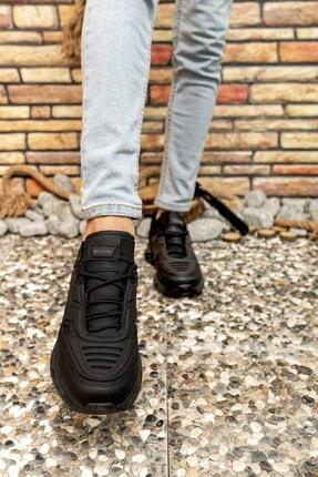 Riccon Siyah Siyah Erkek Sneaker 00122021 2