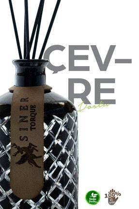 Siner Torque El Yapımı Dekoratif Cam Şişe 250ml 2