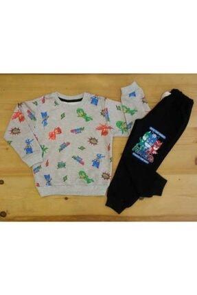 Pijamaskeliler Baskılı Mevsimlik Çocuk Eşofman Takım 0