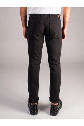 Dufy Siyah Düz Erkek Pantolon - Regular Fit 2