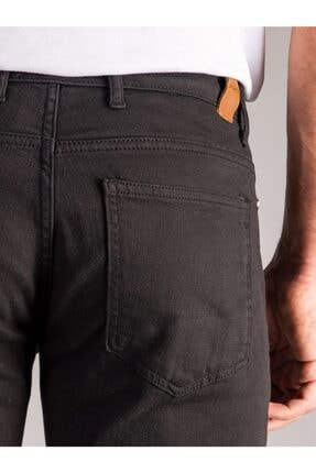 Dufy Siyah Düz Erkek Pantolon - Regular Fit 3