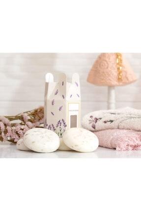 English Home Lavanta Özlü Katı Sabun 4x45 Gr Beyaz 1