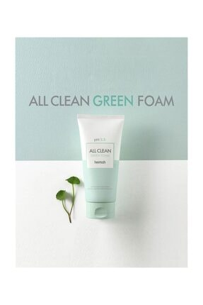 Heimish All Clean Green Foam - Ph 5,5 Değerinde Hassas Ciltlere Için Temizleyici 3