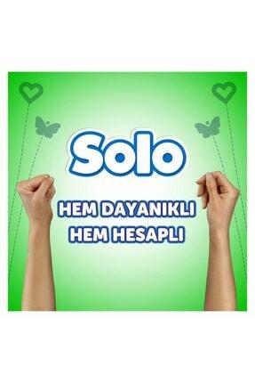 Solo Kağıt Havlu 48 Rulo (12x4 Rulo) 4