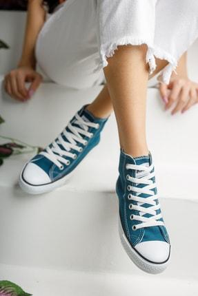 Muggo Unisex Mavi Keten Ayakkabı Mgcrs37 2