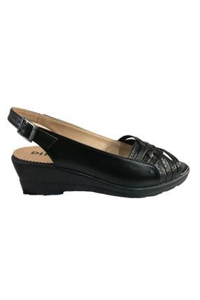 Sıyah Kadın Klasik Topuklu Ayakkabı klasik topuklu ayakkabı 000035
