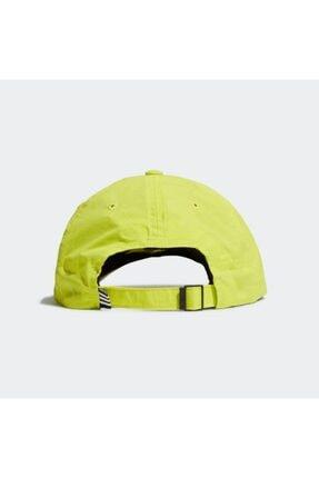 adidas GJ8312 Aeroready Erkek Şapka Sarı 2
