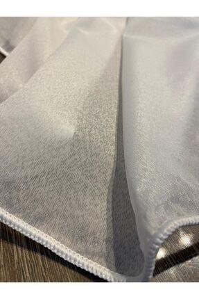 Moda Perde 200x210 Cm Petek Üstü Kısa Tül (buz Dokulu Vual Tül) 1