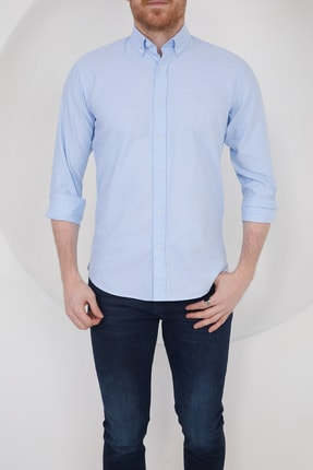 Erkek Mavi Gömlek 2728 ERKEK GOMLEK