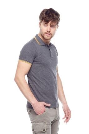 Tena Moda Erkek Petrol Polo Yaka Tişört 1