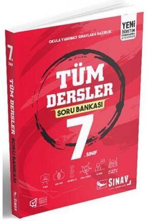 Sınav Yayınları 7.Sınıf Tüm Dersler Soru Bankası 0