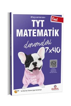 Kurul Yayıncılık 2021 Tyt Final 7x40 Matematik Denemeleri Qr Kod Çözümlü 0