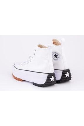 Converse Erkek Beyaz Kalın Tabanlı Sneakers 3