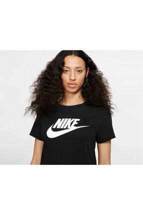 Nike W Nsw Tee Essntl Icon Futur Siyah 1