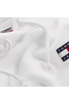 Tommy Hilfiger Tjw Badge Polar Fleece Hoodıe 3