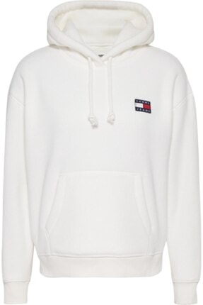 Tommy Hilfiger Tjw Badge Polar Fleece Hoodıe 4