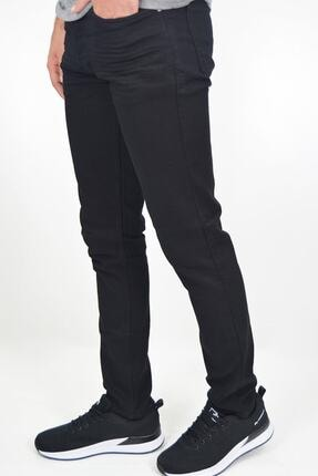 ds danlıspor Erkek Siyah Likralı Hafif Çizgili Kot Pantolon 1