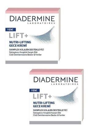 Diadermine 2'li Lift+ Nutri - Lifting Gece Kremi 50 ml 0