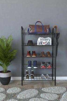 Evekip 5 Raflı Ayakkabılık Metal Ayakkabılık Çok Amaçlı Dolap 1