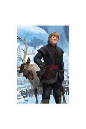 DİSNEY Frozen Mini Puzzle Set 4 Adet 54 Parça Puzzle Elsa Anna Olaf Kristoff 4