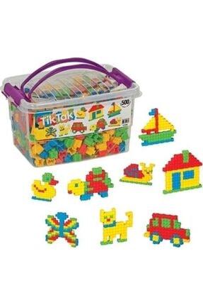 Dede Oyuncak 500 Parça Tik Tak Lego Çıtçıt Lego Seti 0