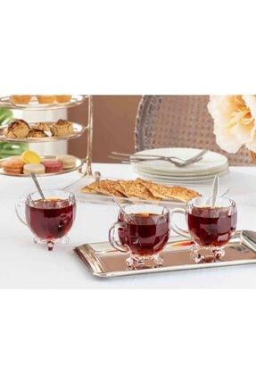 Madame Coco Priour 4'lü Çay Fincanı 0