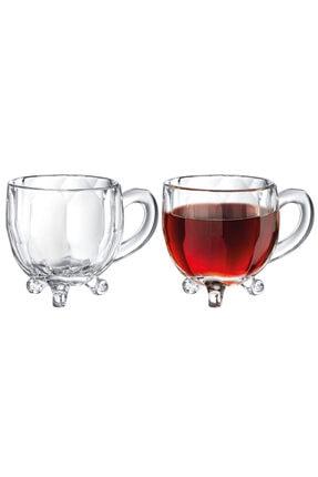 Madame Coco Priour 4'lü Çay Fincanı 1