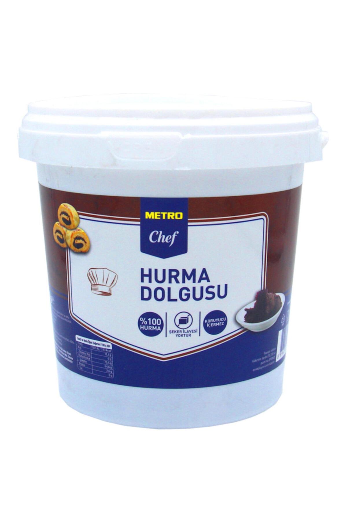Elit parti Metro Chef Hurma Dolgusu (püresi) (1 Kg)