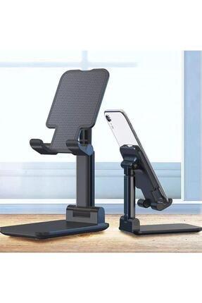 gaman Siyah Katlanabilir Masaüstü Tablet Ve Telefon Tutucu Stand 1