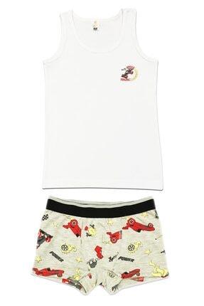 ÖZKAN underwear Erkek Çocuk Beyaz İç Giyim Takım 31421 0